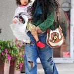 Lisa Bonet with his daughter Lola Iolani Momoa