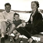 Malcolm Turnbull with his parents in his childhood