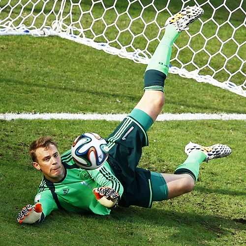 Manuel Neuer on ground