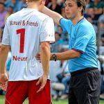Marcel Neuer on the ground
