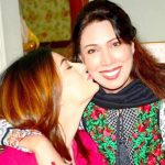 Mehwish Hayat with her mother