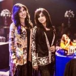 Mehwish Hayat with her sister