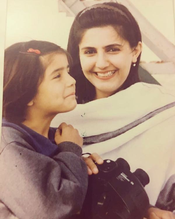 Momina Mustehsan In Her Childhood