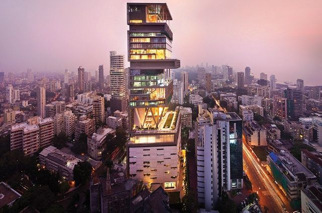 Mukesh Ambani's house Antilia