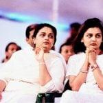 Mukesh Ambani sisters Nina (right) and Deepti (left)