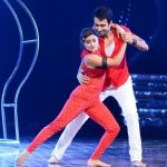 Nandish Sandhu and Rashami Desai in Nach Baliye 7