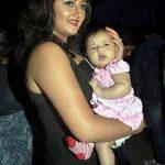 Rashami Desai with her daughter