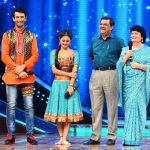 Nandish Sandhu with his parents and Ex-wife