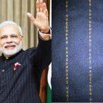 Narendra Modi 10 Lakh Suit