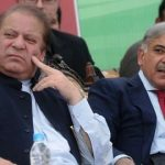 Shehbaz Sharif with his brother Nawaz Sharif