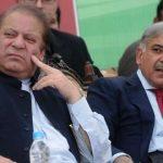 Shehbaz Sharif with his brother Nawaz Sharif
