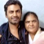 Nawazuddin Siddiqui With His Mother Mehroonisa