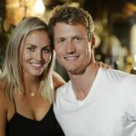 Nikki Gogan with Richie Strahan