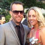 Nikki Gogan with her Ex-fiance Tim Verlinden