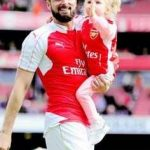 Olivier with daughter Jade