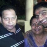 Parag Tyagi with his parents