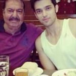 Parth Samthaan with his father