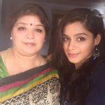 Pranati Rai Prakash with her mother