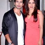Shahid Kapoor With His Ex-Girlfriend Priyanka Chopra