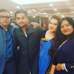 Puru Chibber with his family