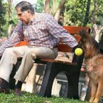 Ratan Tata with his dogs