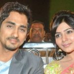 Samantha Ruth Prabhu dated Sidhart