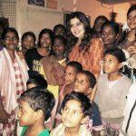 Samantha Ruth Prabhu, a philanthropist