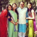 Sameeksha with her family
