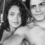 Sandhya with her boyfriend