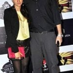 Shruti Seth with Husband Danish