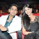 Siddharth with his Ex-girlfriend Shruti Hassan