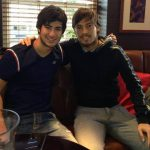 Silva with his brother Nando