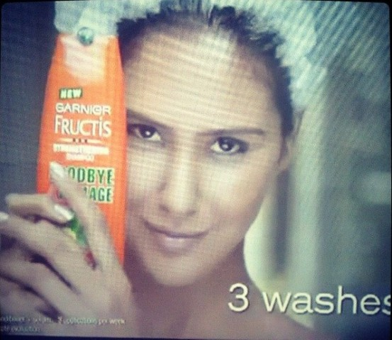 Sonam Bajwa in an advertisement