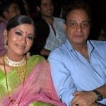 Sudha Chandran with her husband