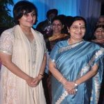 Sushma Swaraj with her Daughter Bansuri Kaushal