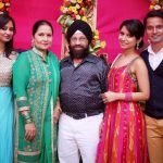 Vinny Arora with her family
