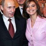 Vladimir Putin reportedly dated Gymnast Alina Kabayeva