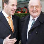 John Key with his half brother Martyn Key