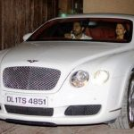 Abhishek Bachchan Bentley Continental GT
