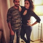 Additi Gupta with her Boyfriend