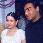 Ajay Devgan With His Ex-Girlfriend Karisma Kapoor