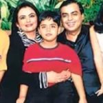 Akash Ambani Childhood Photo