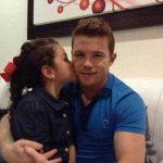 Alvarez with his daughter Emily