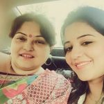 Antara Biswas aka Monalisa with her mother