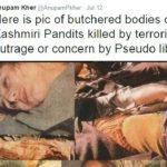Anupam Kher's Controversial Tweet