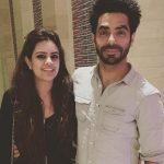 Aparshakti Khurrana with his wife Aakriti Ahuja