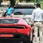 Arnab Goswami Lamborghini controversy
