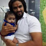 Arpit with his son
