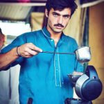 Arshad Khan viral pic by Jiah Ali