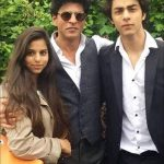 aryan-khan-with-his-father-shah-rukh-khan-and-daughter-suhana-khan